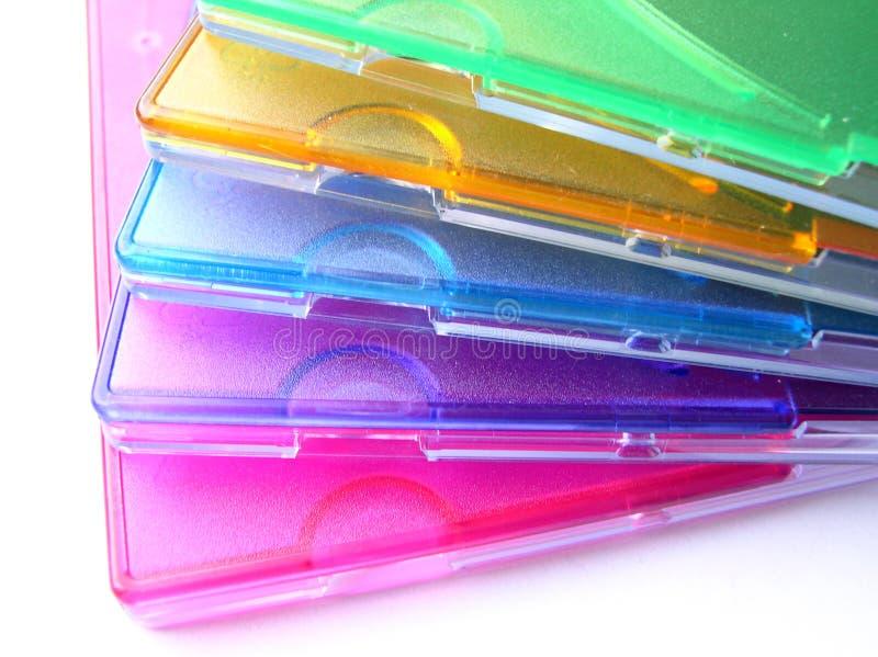 15收集颜色盖子 免版税库存图片