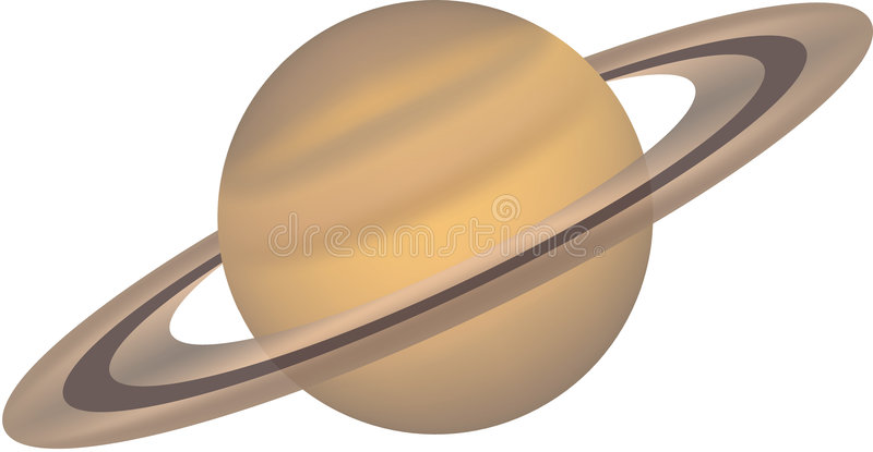 15 isolerade planetserie vektor illustrationer