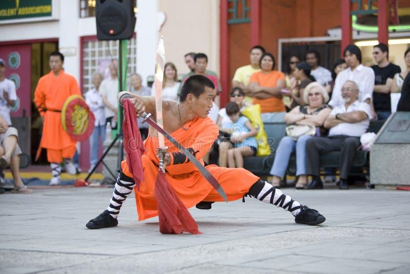 15 shaolin kung - fu. fotografia royalty free