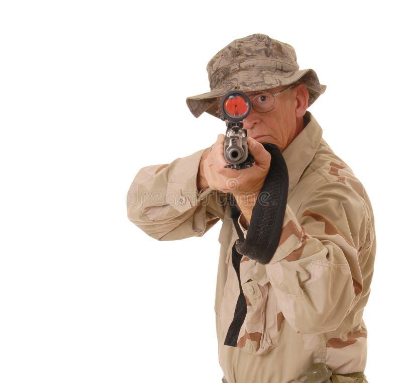 15 stary żołnierz zdjęcie royalty free