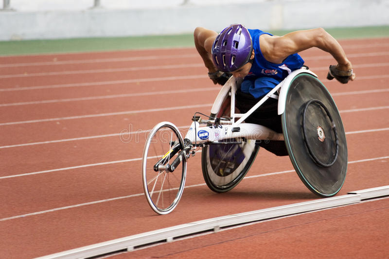 1500 manräkneverk race s-rullstolen royaltyfri foto