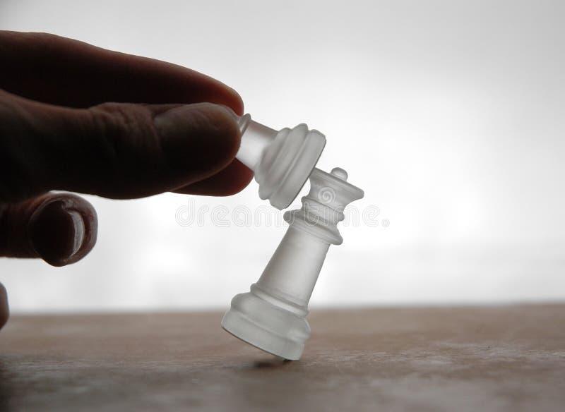 16 частей шахмат Стоковые Изображения RF