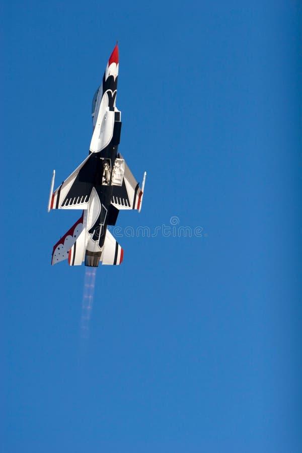 16 f figther thunderbird strumienia zdjęcia royalty free