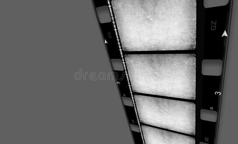 16 mm Film roll. 2D digital art stock photos