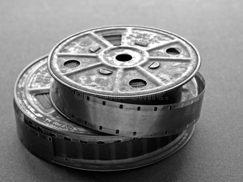 Download 16 mm Film Spool stock photo. Image of roll, photography - 451596