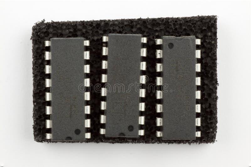 16 Pin Integrated Circuits Stock Image