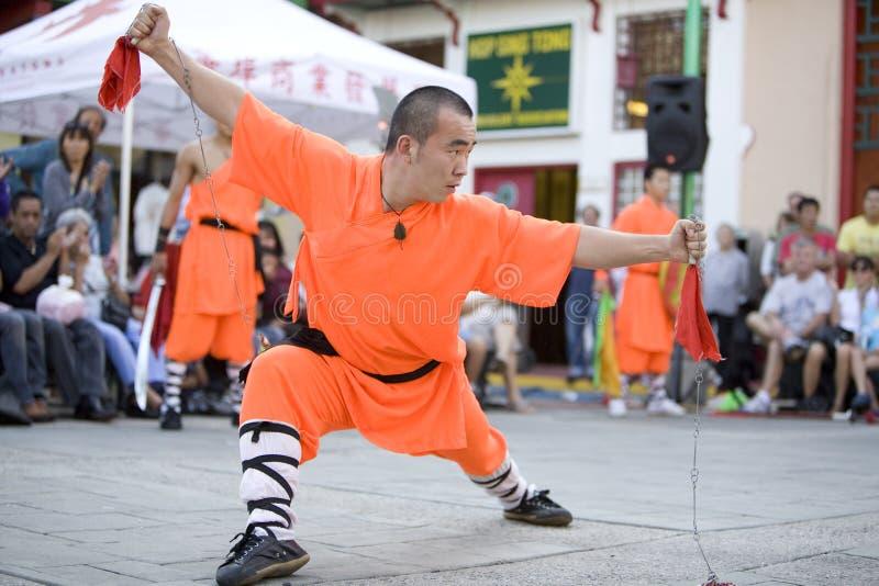 16 shaolin kung - fu. zdjęcia royalty free