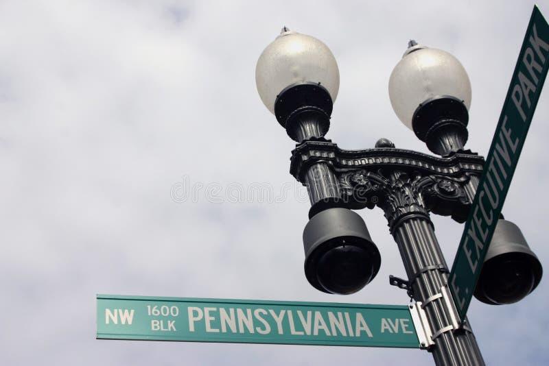 1600 de Weg van Pennsylvania stock foto's