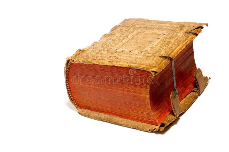 1610 libro antico 1 fotografie stock