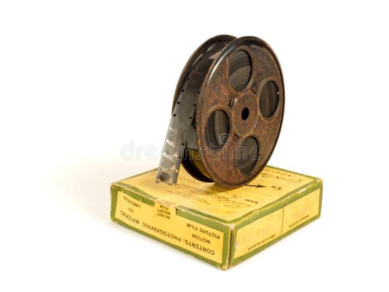 Download 16mm 30m Pudełkowata Ekranowa Rolka Zdjęcie Stock - Obraz złożonej z biały, film: 13336174