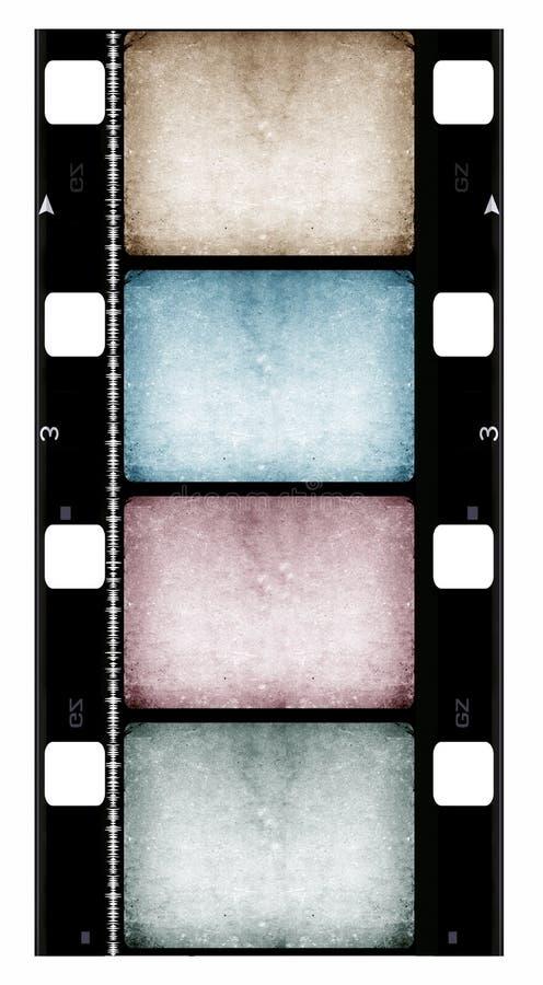 16mm filmrulle vektor illustrationer
