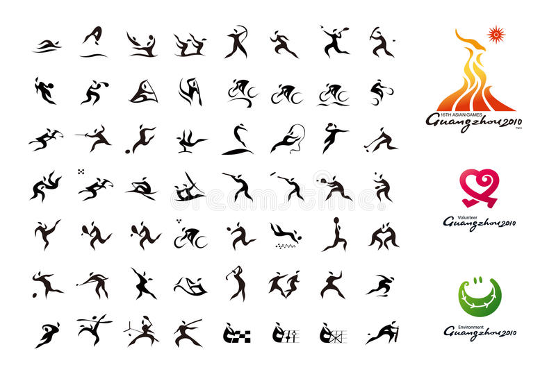 Download The 16th Asian Games Editorial Image - Image: 9951595