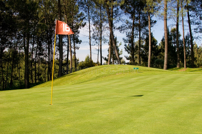 Download 16th Hole Royalty Free Stock Photos - Image: 783818