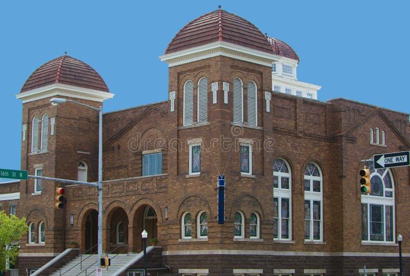 16th Street Baptist Church. In Birmingham, Alabama; African American civil rights stock photos