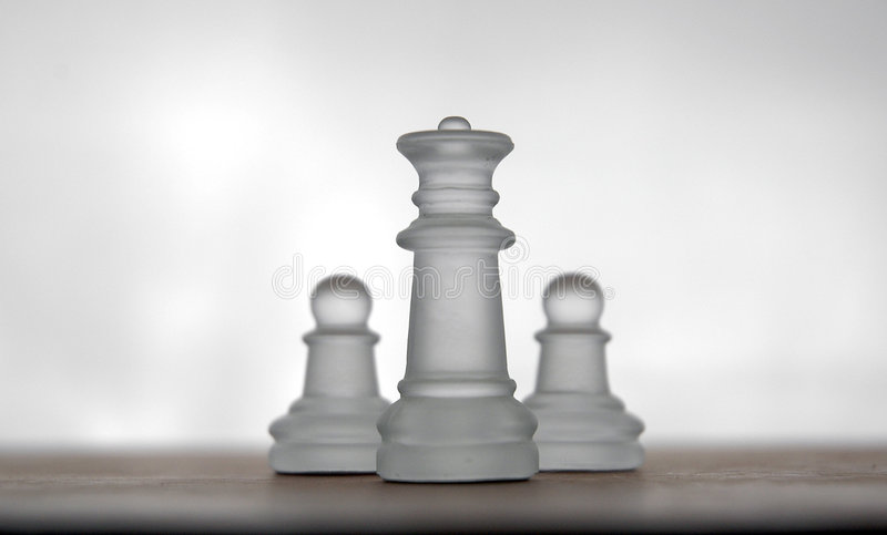17 частей шахмат стоковое изображение rf