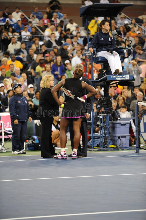 17 2009 otwarty Serena my Williams fotografia stock