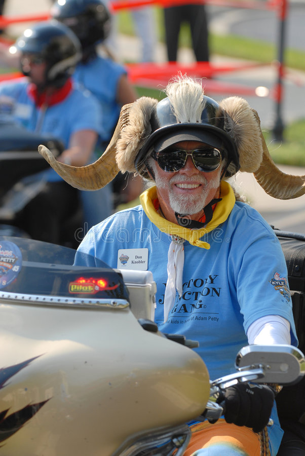 17 Charlotte 2008 Lipca wykładowców jeźdźców nc motocykla zdjęcie stock