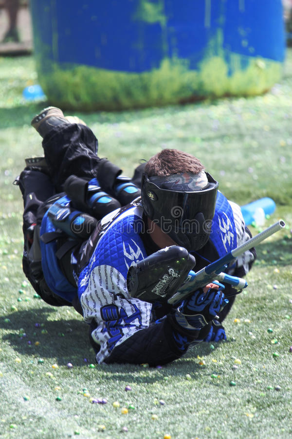 17 paintball obrazy royalty free