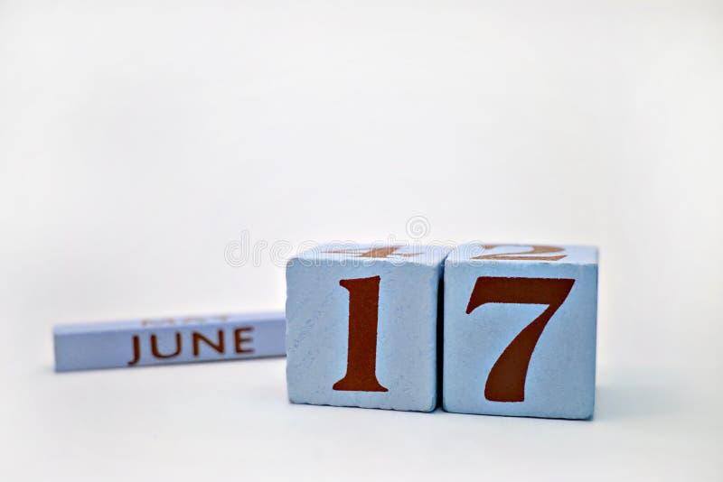 17c июнь стоковая фотография