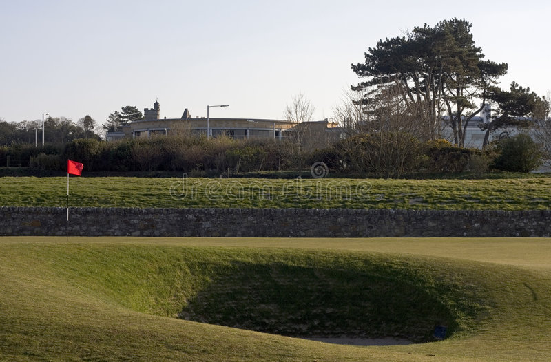 Download 17th Bunker & Green, St Andrews Old Course Stock Image - Image: 8832499