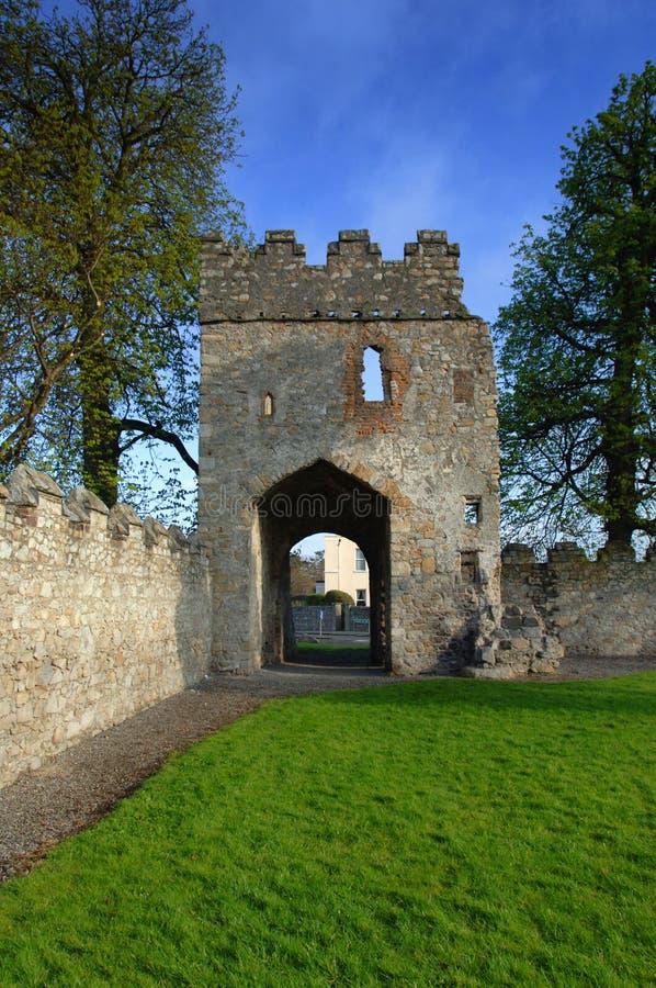17th Century Castle / Monkstown Abbey Stock Image