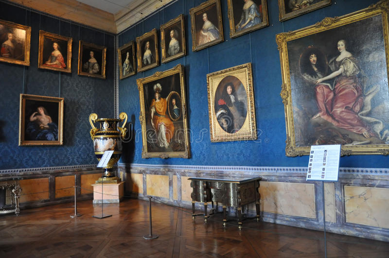 17th century Galleries, Versailles royalty free stock photo