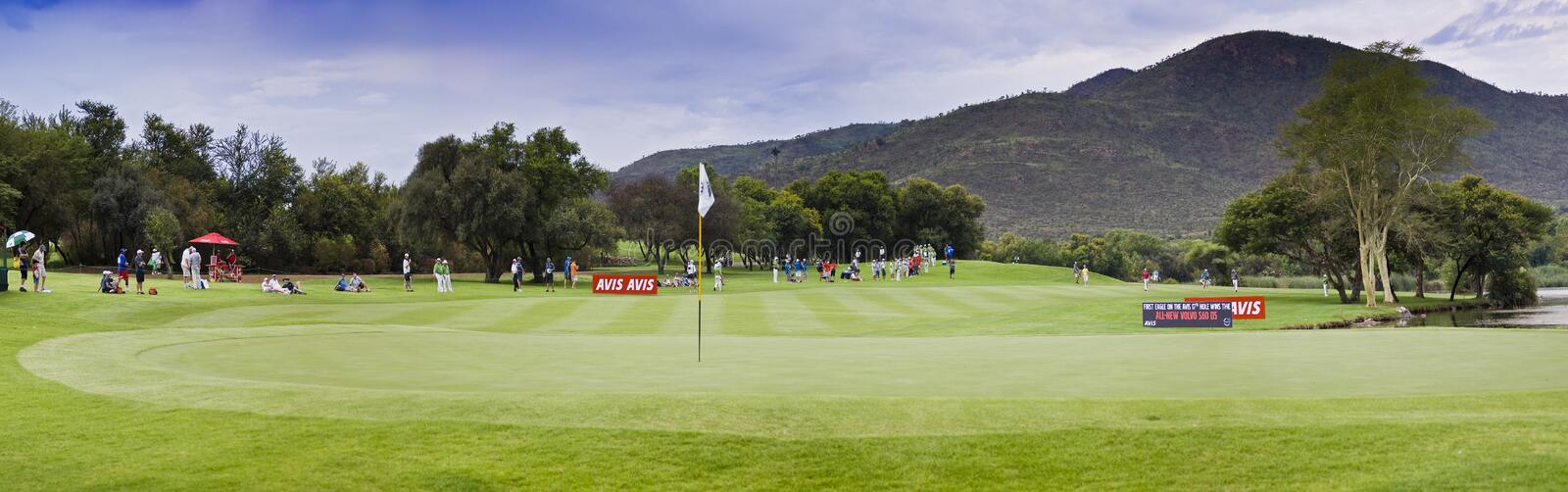 Download 17th Green - Gary Player Golf Course - Pano Editorial Stock Image - Image: 17814989