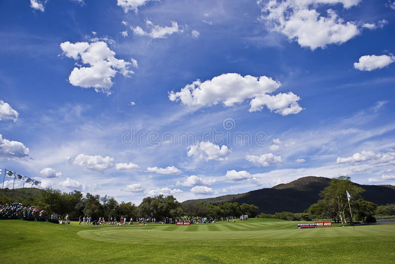 17th Green stock images