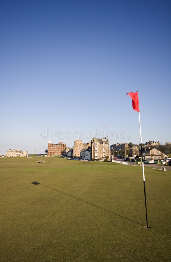 Download 17th Green, St Andrews Old Course Stock Image - Image: 8901371