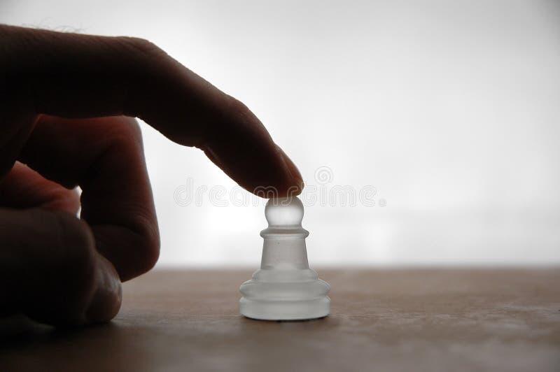 18个棋子 免版税图库摄影