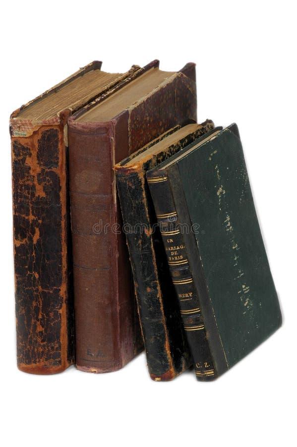 18 книг времен старых стоковые фото