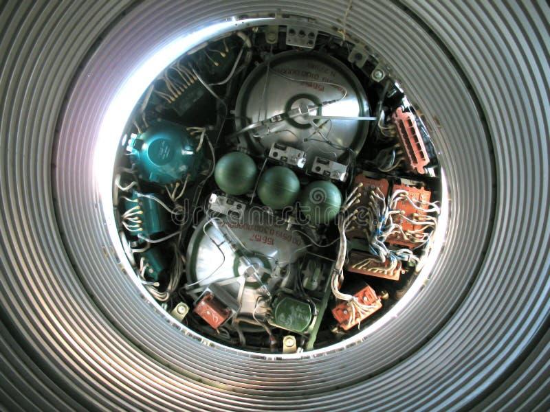 18 intercontinental missil ss arkivbild
