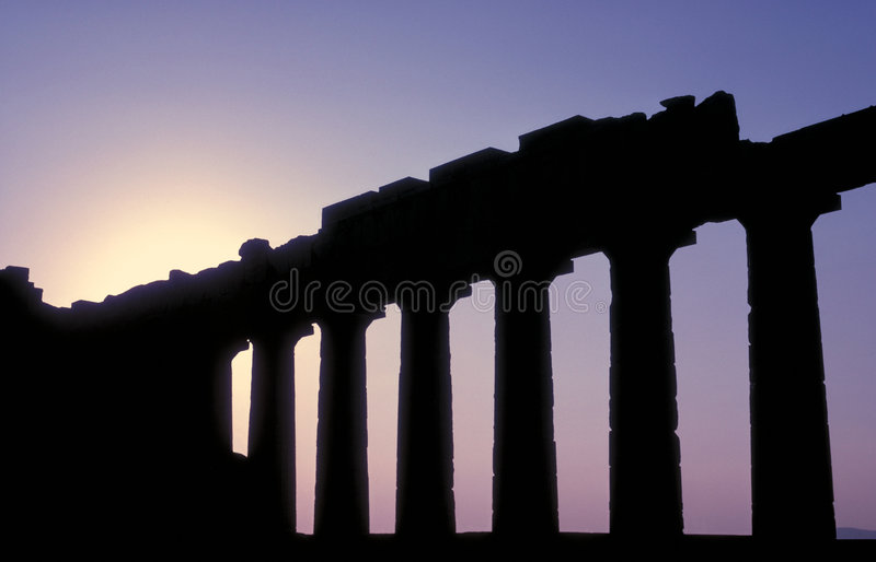 18 parthenon obraz stock
