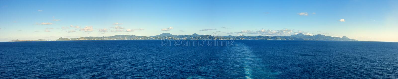 Download 180 Degree Panorama Of St Lucia Stock Photo - Image: 26081494