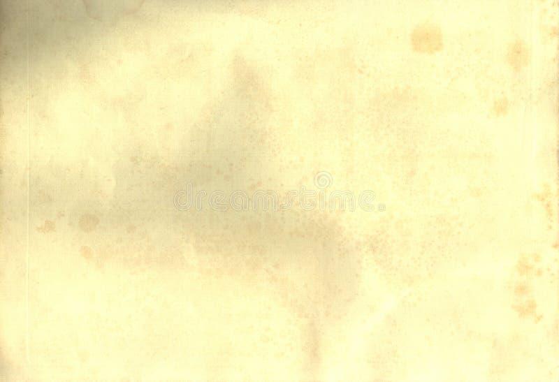 1852纸s葡萄酒 库存照片