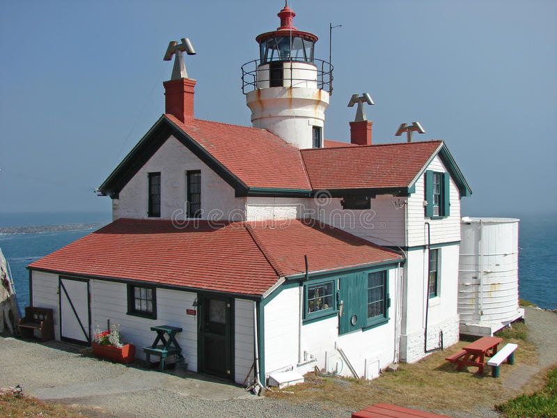 1856 Lighthouse royalty free stock photography