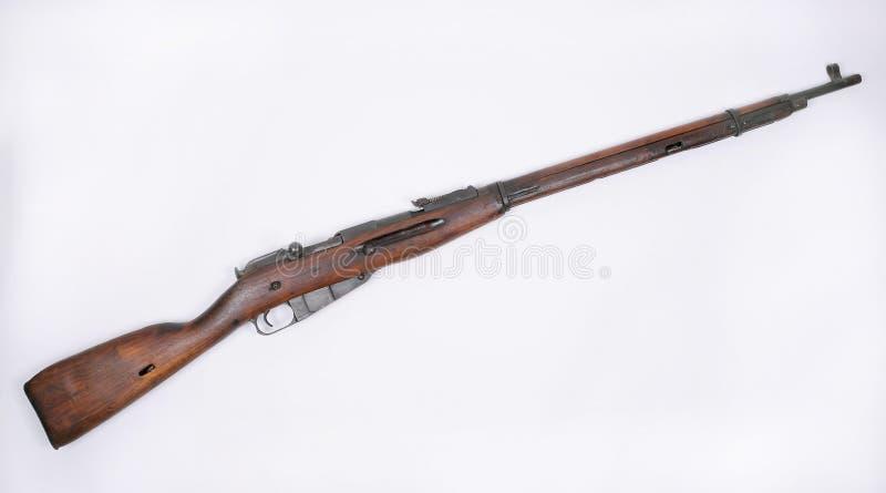 1891年mosin nagant步枪俄语 免版税库存照片