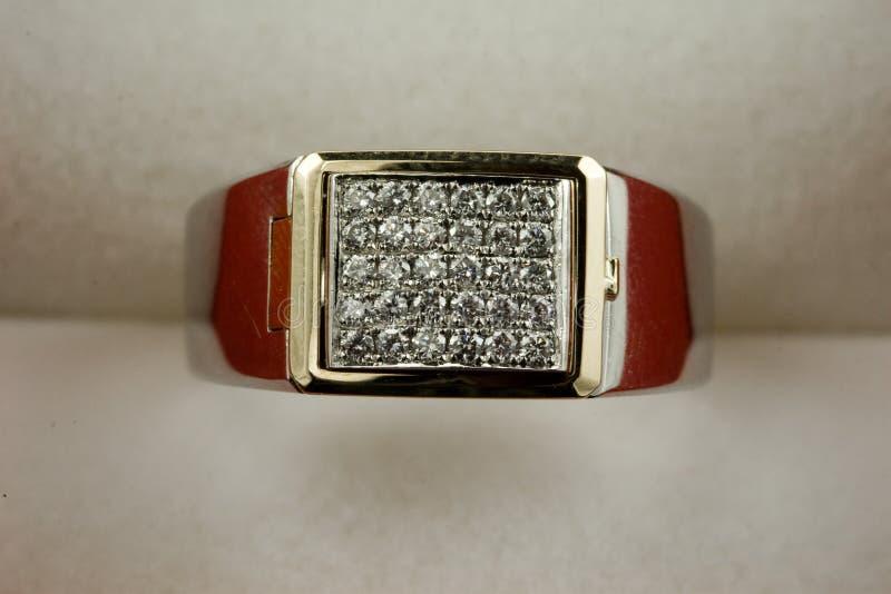 18k gouden Juwelen stock afbeelding