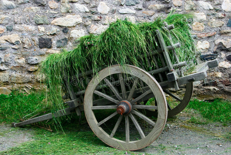 Download 18th Century Hay Cart stock image. Image of fundamental - 1047927