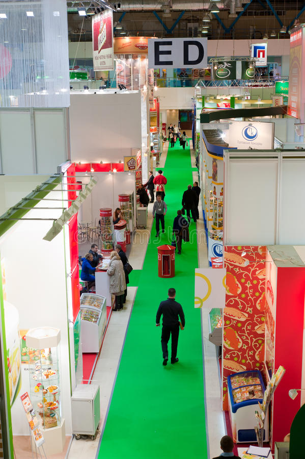 18th Prodexpo International Exhibition in Moscow royalty free stock image
