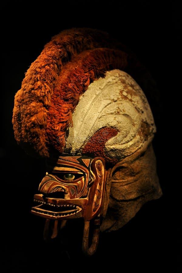 19ème Masque de cérémonial de Tatanua de siècle photographie stock libre de droits