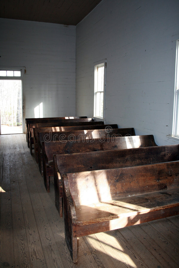 19世纪教会 库存照片