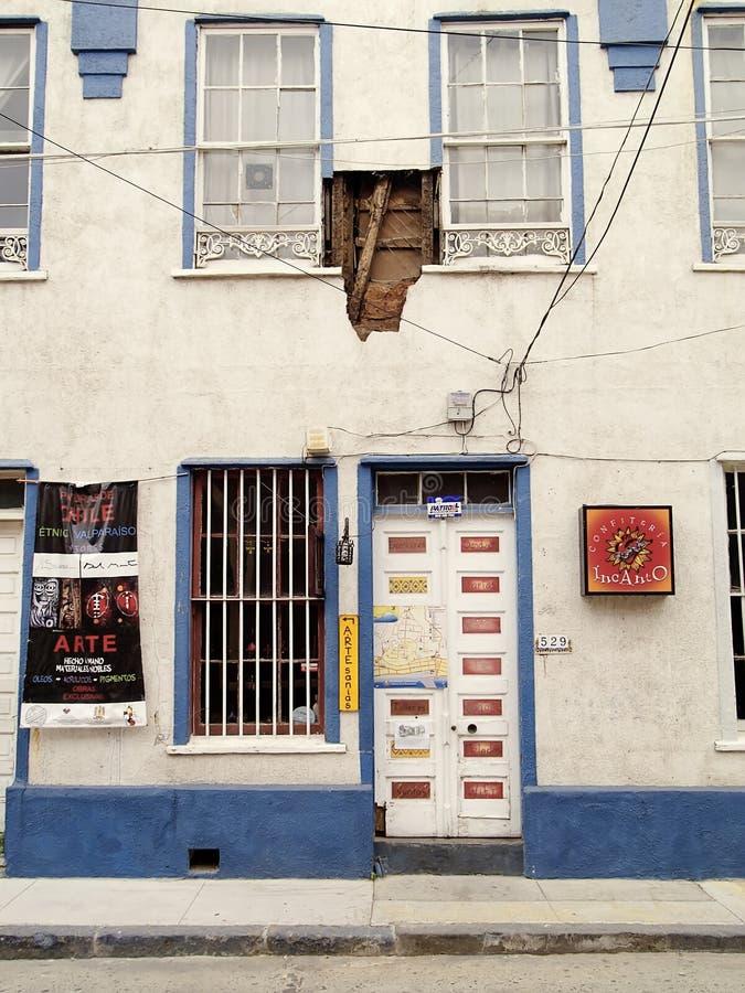 19 2010 chile jordskalv februari valparaiso royaltyfria bilder
