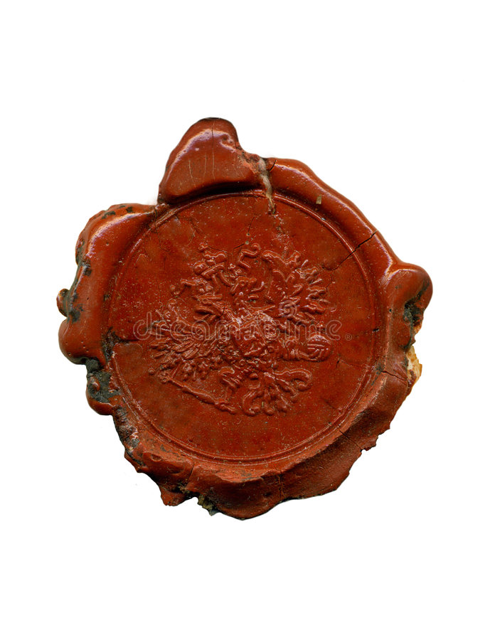 1900s wax seal stock images
