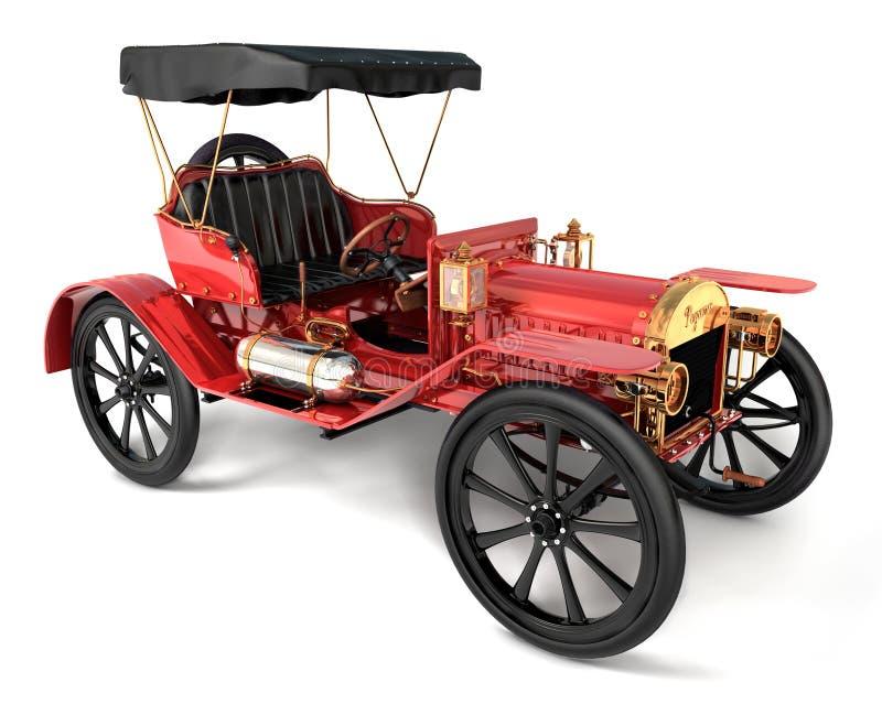 1910 antykwarskich samochodów zdjęcie royalty free