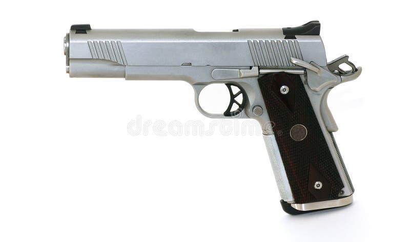 1911 tipo 45 pistola fotos de archivo libres de regalías