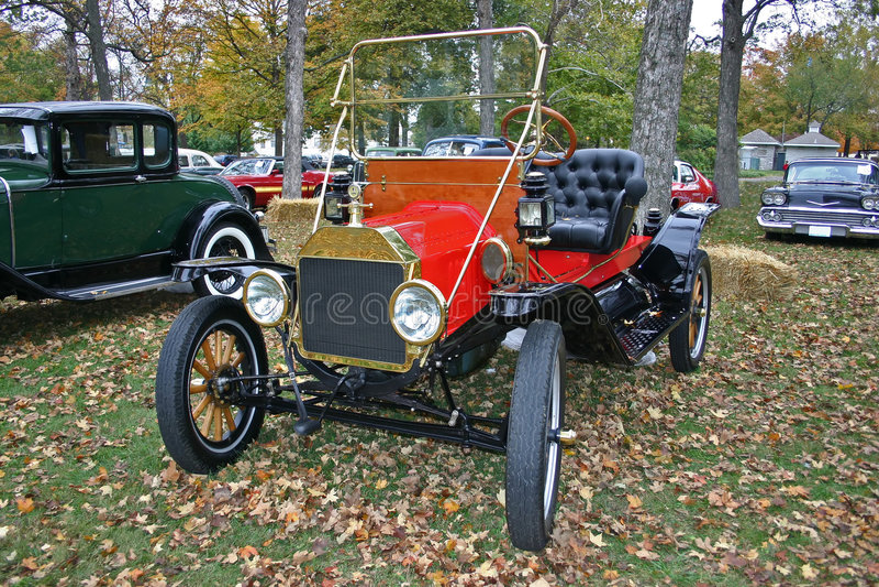 1912 vorbildliche T Ford lizenzfreies stockfoto