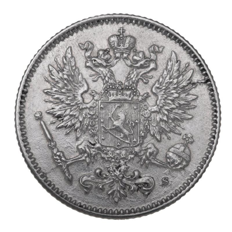 1914 menniczy srebro zdjęcie royalty free