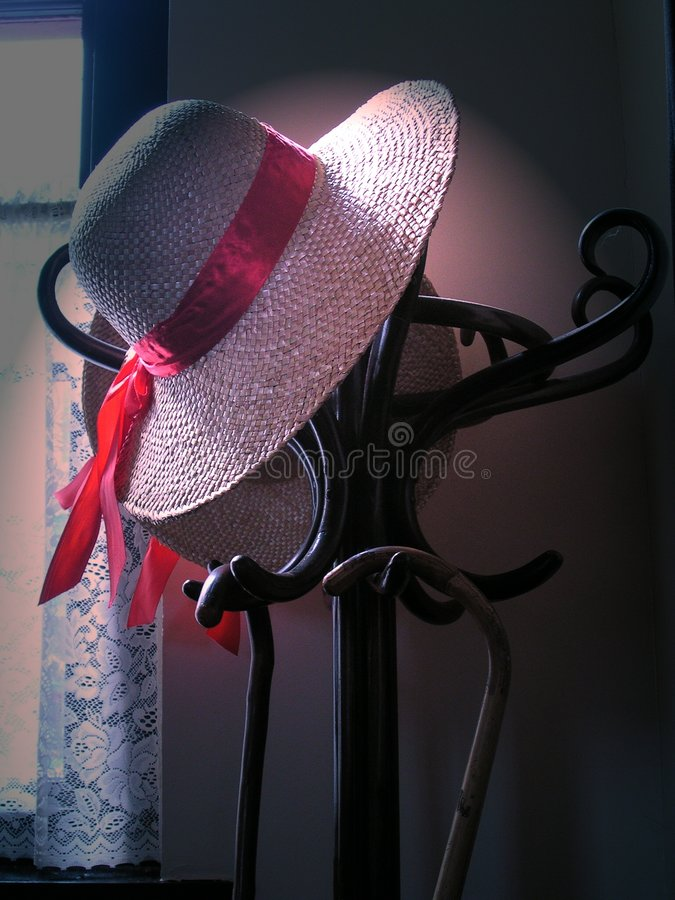 Download 1920s hatstand stock photo. Image of cane, weave, party - 13442