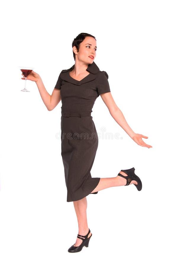 Download 1920s party girl. stock image. Image of feminine, caucasian - 4871377